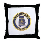 Alabama Bomb Squad Throw Pillow