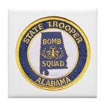 Alabama Bomb Squad Tile Coaster