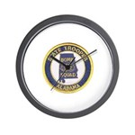Alabama Bomb Squad Wall Clock
