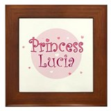 Lucia Framed Tile