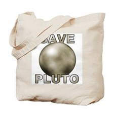 Cute Save pluto Tote Bag