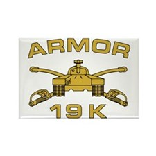 Armor - 19K Rectangle Magnet