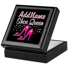 PINK SHOES Keepsake Box