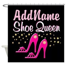 PINK SHOES Shower Curtain