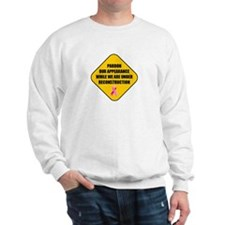 Pardon Plastic Surgery Sweatshirt
