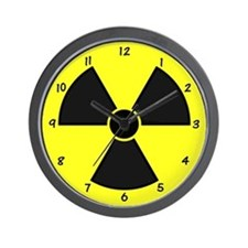 XRay Wall Clock - Black Yellow