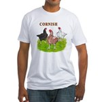 Cornish Trio Fitted T-Shirt