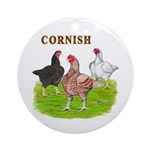 Cornish Trio Ornament (Round)