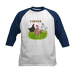 Cornish Trio Kids Baseball Jersey