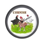 Cornish Trio Wall Clock