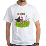Cornish Trio White T-Shirt