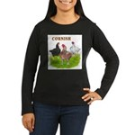 Cornish Trio Women's Long Sleeve Dark T-Shirt