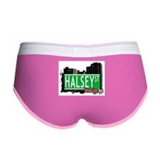HALSEY ST, BROOKLYN, NYC Women's Boy Brief