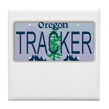 Oregon Tracker Tile Coaster