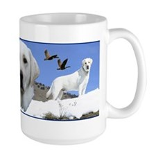 Yellow Labrador tribute Mug