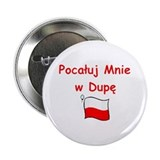 "Kiss My A@@ 2.25"" Button (100 pack)"
