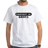 Property of Krista Premium Shirt