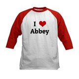 I Love Abbey Tee