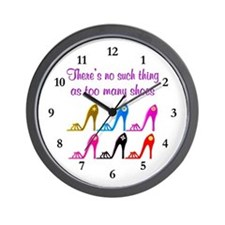 SHOE ADDICT Wall Clock
