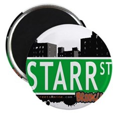"STARR ST, BROOKLYN, NYC 2.25"" Magnet (100 pack)"