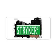 STRYKER ST, BROOKLYN, NYC Aluminum License Plate