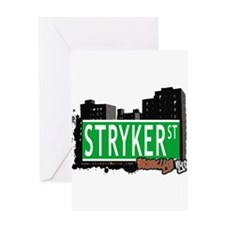 STRYKER ST, BROOKLYN, NYC Greeting Card