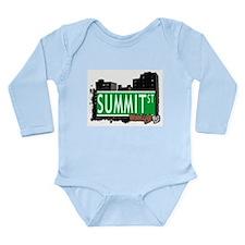 SUMMIT ST, BROOKLYN, NYC Long Sleeve Infant Bodysu