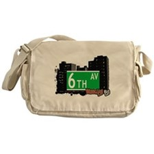 brooklyn 6th avenue.jpg Messenger Bag