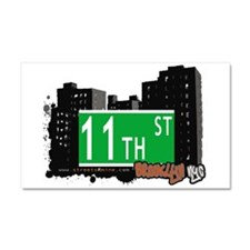 8th street, BROOKLYN, NYC Car Magnet 20 x 12