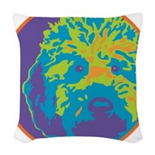 Lab_c2_round.png Woven Throw Pillow