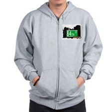 84th street, BROOKLYN, NYC Zip Hoodie