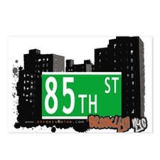 85th street, BROOKLYN, NYC Postcards (Package of 8