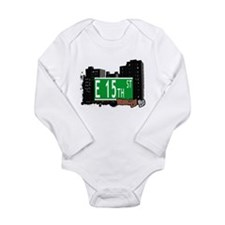 E 15th street, BROOKLYN, NYC Long Sleeve Infant Bo