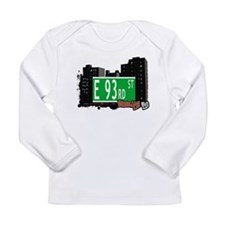 E 93rd street, BROOKLYN, NYC Long Sleeve Infant T-