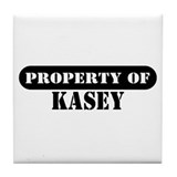 Property of Kasey Tile Coaster
