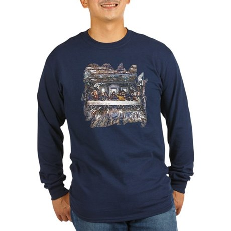 Lord's Last Supper Long Sleeve Dark T-Shirt