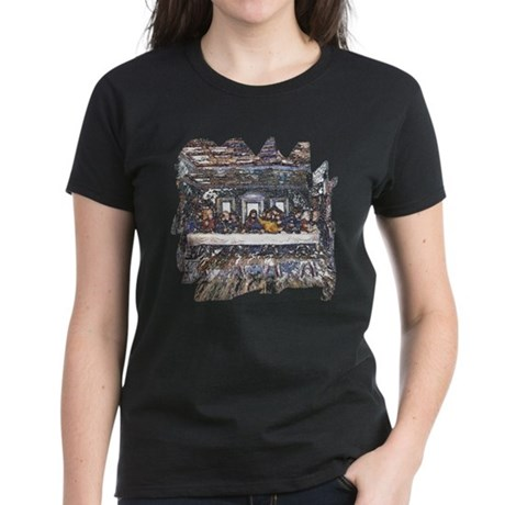 Lord's Last Supper Women's Dark T-Shirt