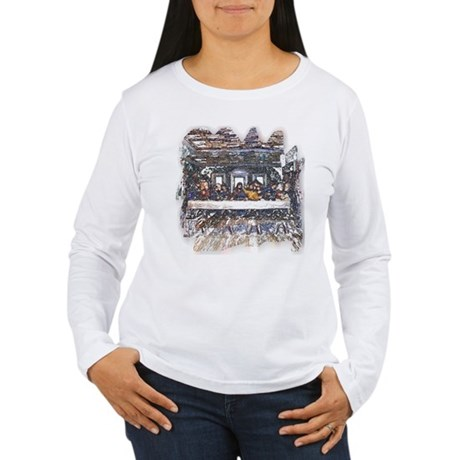 Lord's Last Supper Women's Long Sleeve T-Shirt