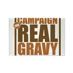 Real Gravy Rectangle Magnet