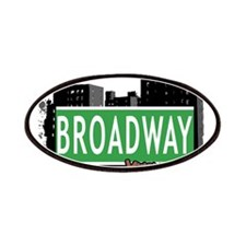 BROADWAY, MANHATTAN, NYC Patches