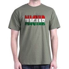 Word Art Flag Magyar T-Shirt