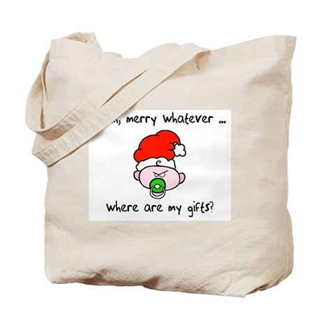 Merry whatever Tote Bag
