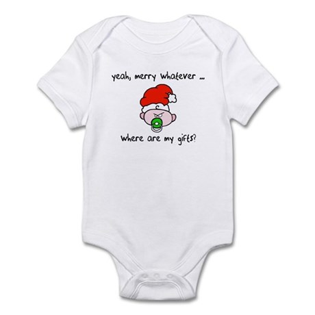 Merry whatever Infant Bodysuit