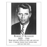 Bobby Kennedy RFK Quote Poster