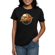 Zebra Print Women's All Over Print T-Shirt