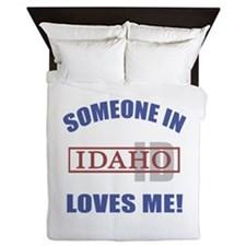 Someone In Idaho Loves Me Queen Duvet