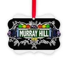 Murray Hill Manhattan NYC (Black) Ornament