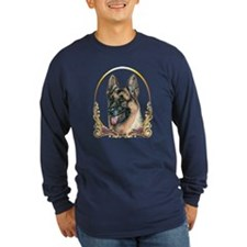 German Shepherd Holiday T