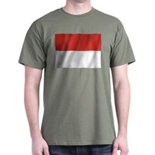Pure Flag of Indonesia T-Shirt