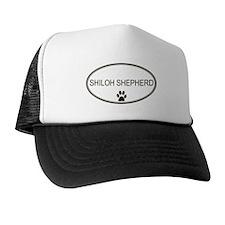 Oval Shiloh Shepherd Trucker Hat
